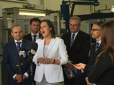Photo of Kelly O'Dwyer as minister for small business
