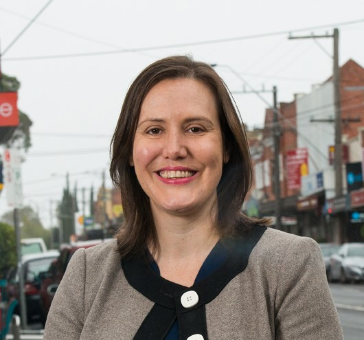 photo of Kelly O'Dwyer in her former electorate of Higgins